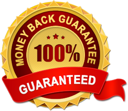 Money back satisfaction guarrantee