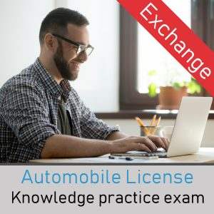 Quebec car exchange license